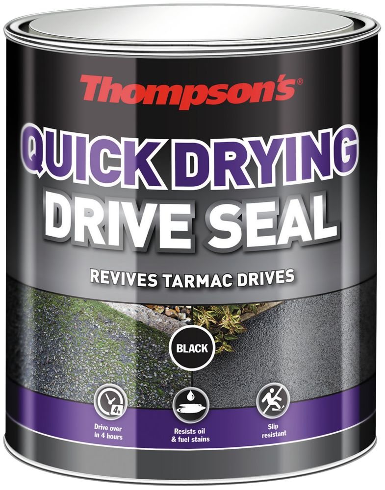 Image of Thompsons Drive Seal Black 5Ltr