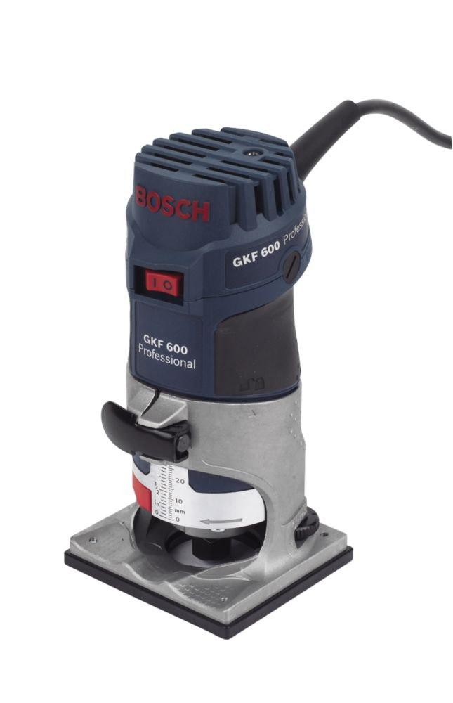 """Image of Bosch GKF600 600W ¼"""" Palm Router 240V"""