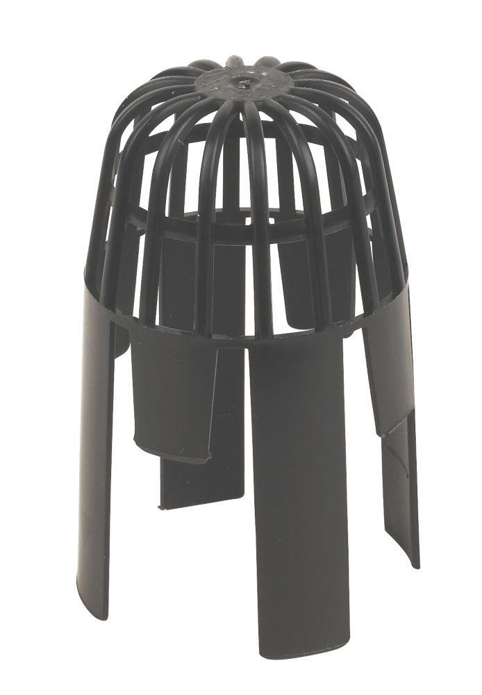 Image of FloPlast Balloon Leaf Guard Black