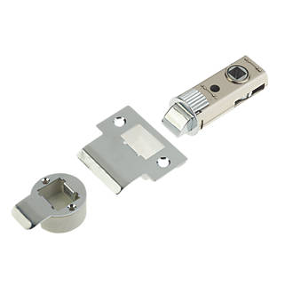 Image of Union Chrome-Plated Tubular Mortice Latch 60mm Case - 44mm Backset