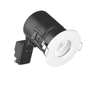 Image of Enlite Fixed Fire Rated LED Downlight White 520lm 5W 240V