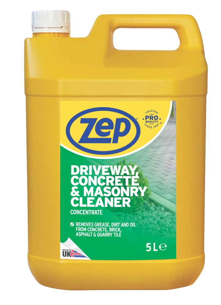 Image of Zep Commercial Driveway, Concrete & Masonry Cleaner Concentrate 5Ltr