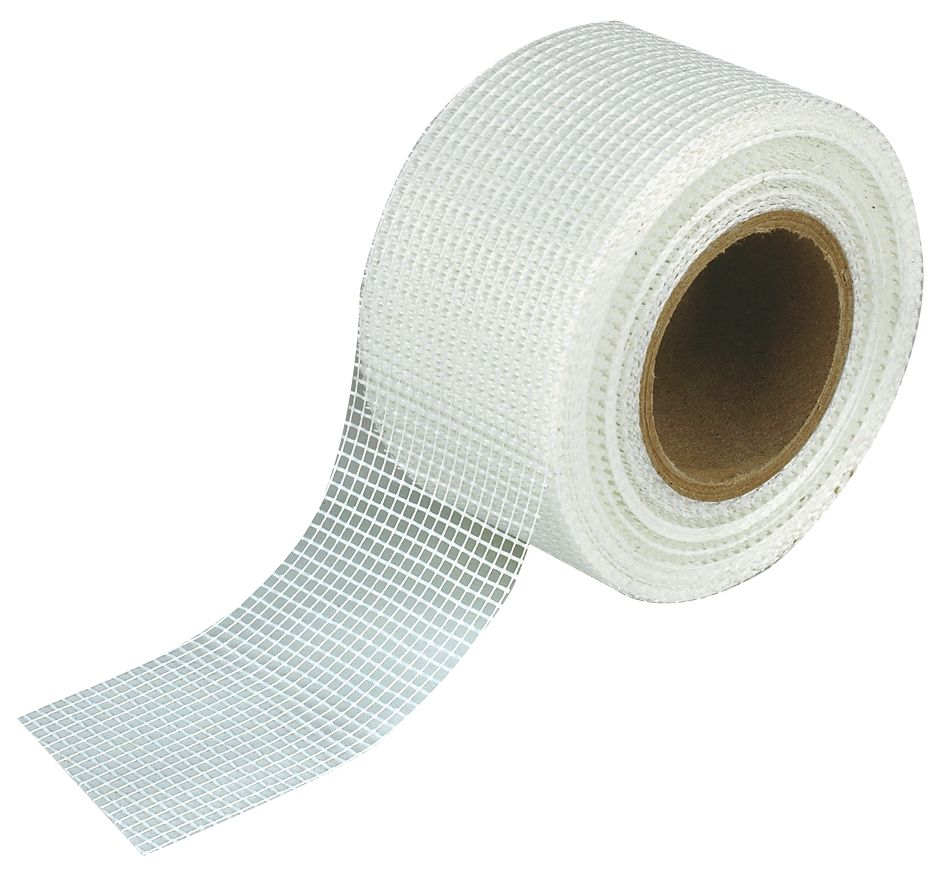 Image of No Nonsense Plasterboard Joint Tape / Scrim Neutral 48mm x 90m