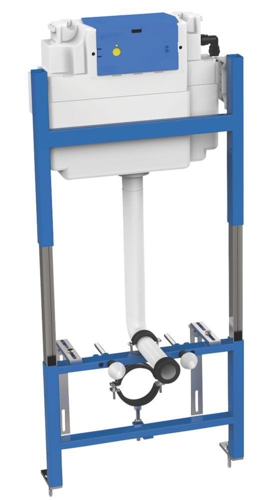 Image of Thomas Dudley Ltd Illusion A Wall-Hung WC Support Frame & Vantage Cistern