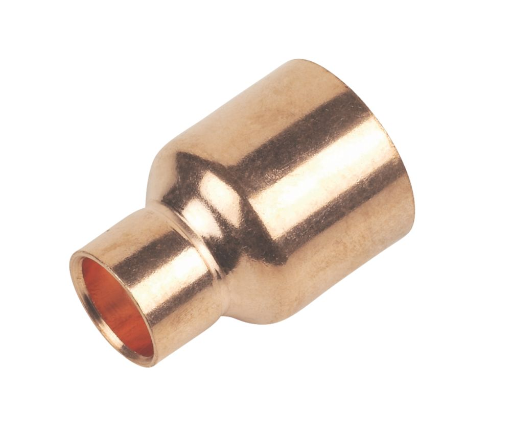 Image of Flomasta End Feed Fitting Reducers 28 x 15mm 2 Pack