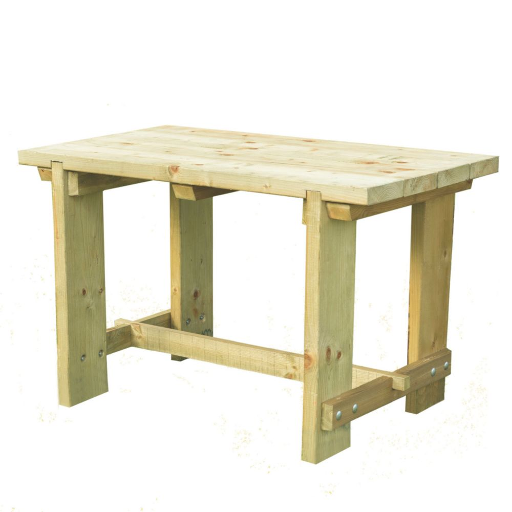 Image of Forest Refectory Garden Table 1200 x 700 x 750mm