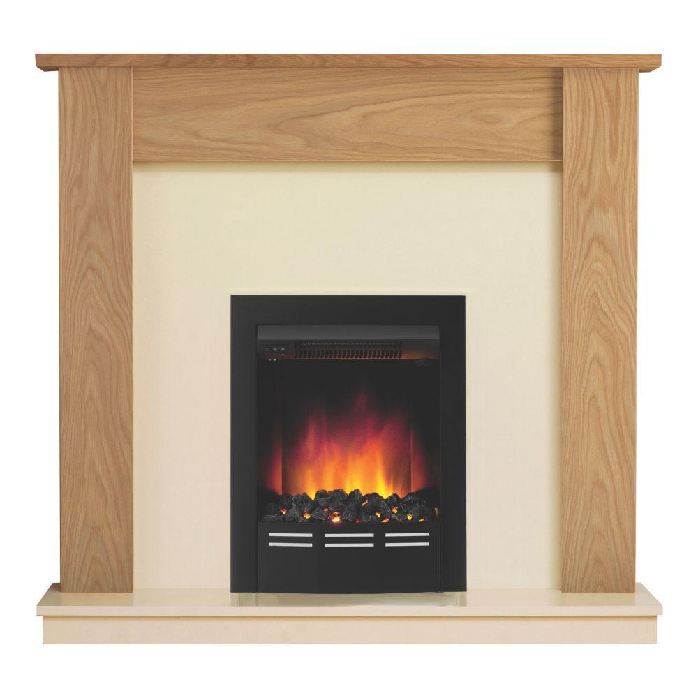 Image of Be Modern Bromley Electric Suite Oak Veneer