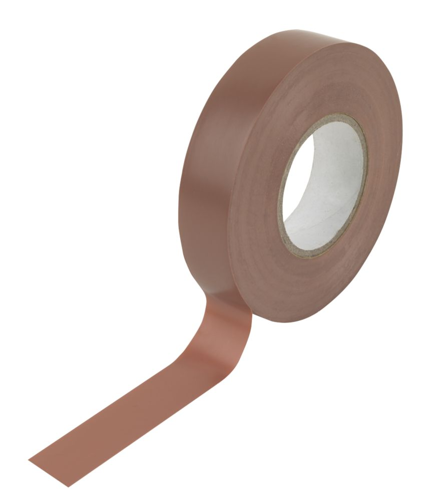 Image of Insulating Tape Brown 19mm x 33m