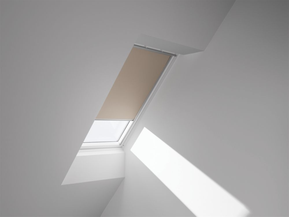 Image of Velux Black-Out Blind Beige 1340 x 980mm