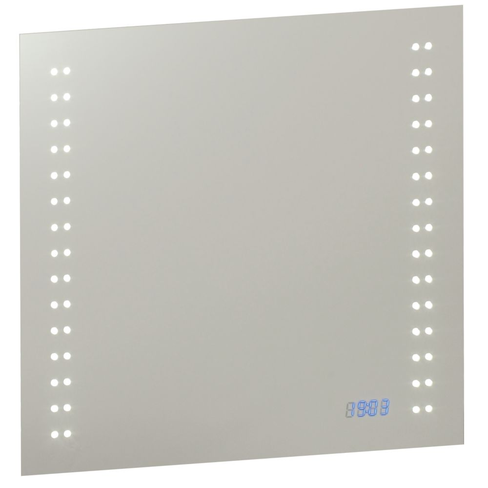 Image of Saxby Beta LED Bathroom Shaver Mirror 3.6W
