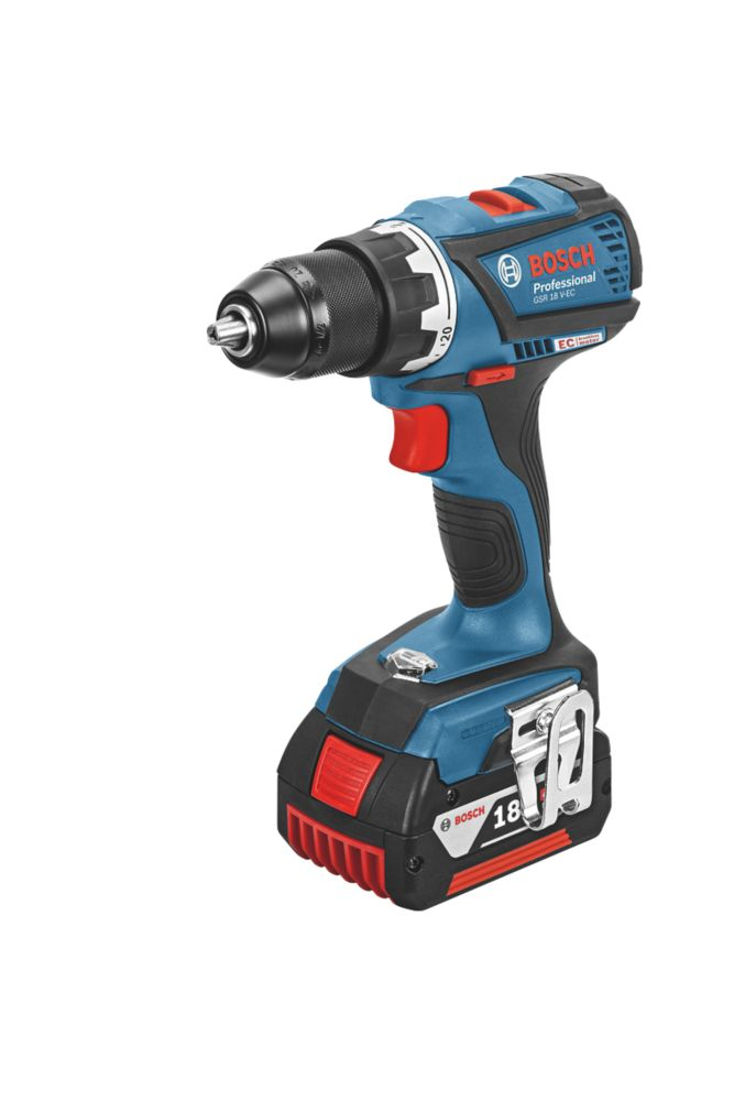 Image of Bosch GSR 18 V-EC 18V 4.0Ah Li-Ion Brushless Drill Driver