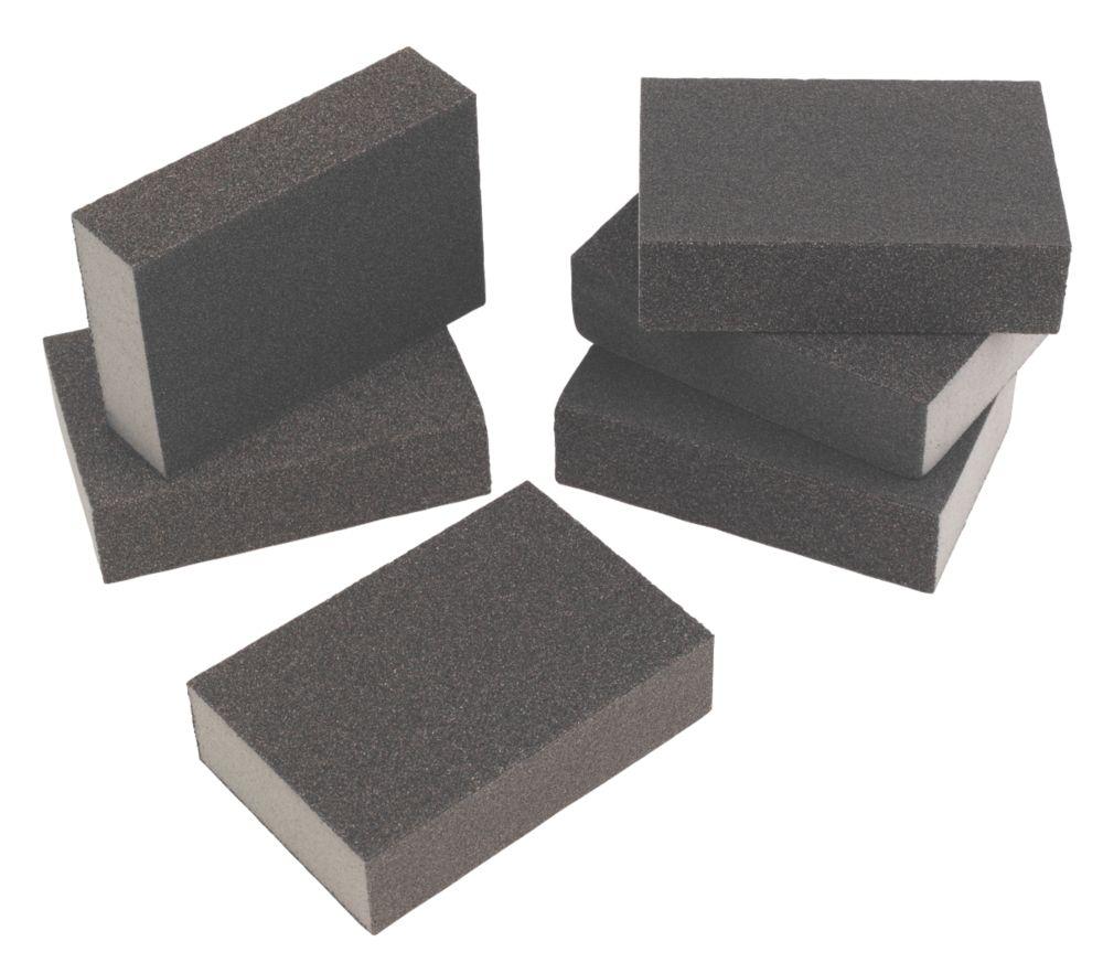Image of Flexovit Sanding Sponges Fine / Medium Pack of 6