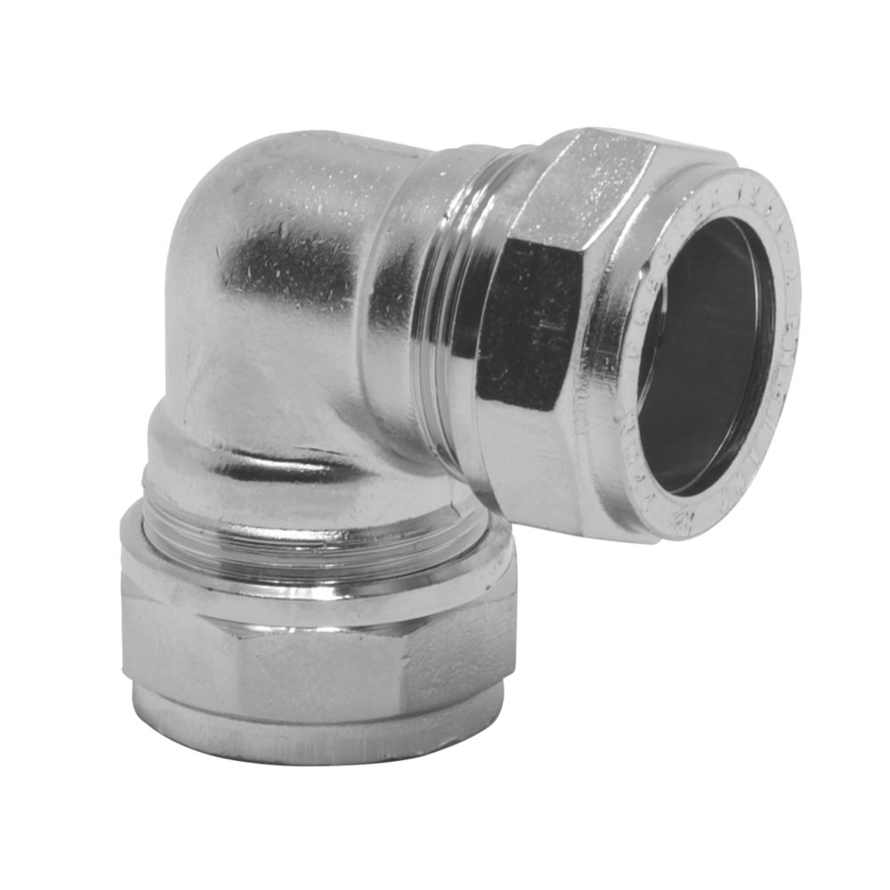 Image of Pegler PX44CP Elbow 22 x 22mm
