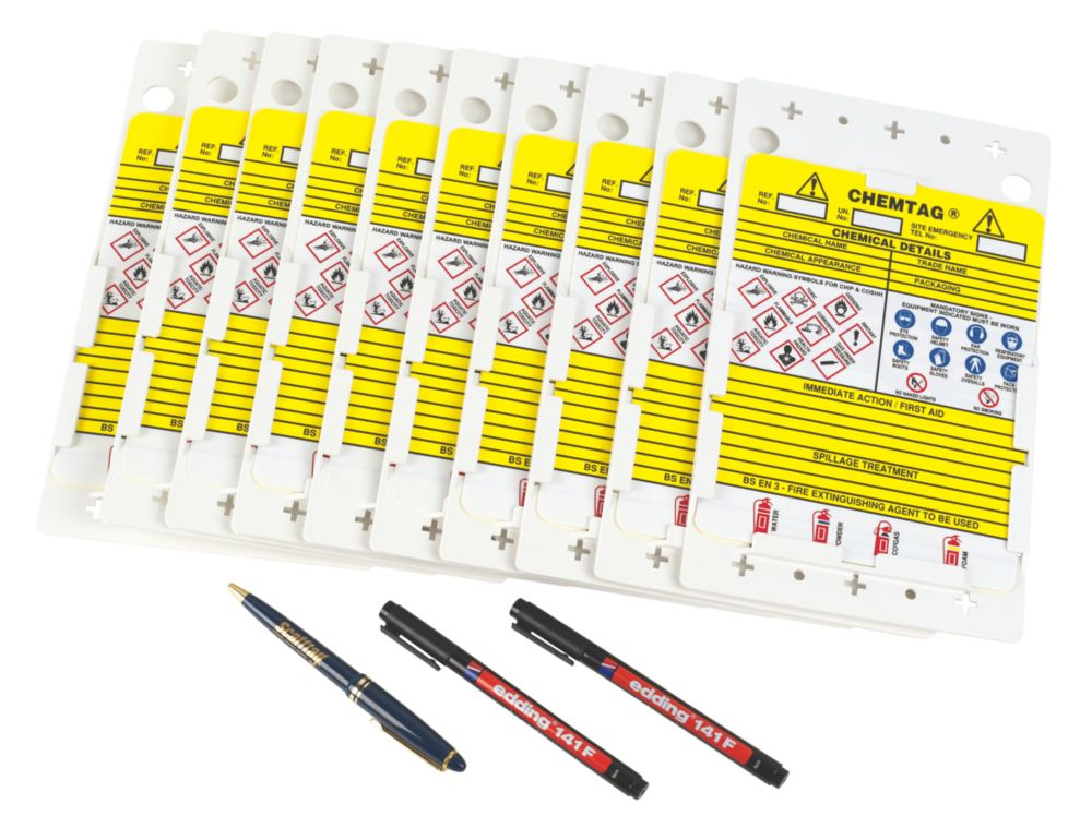 Image of Scafftag Chemtag Tagging Kit