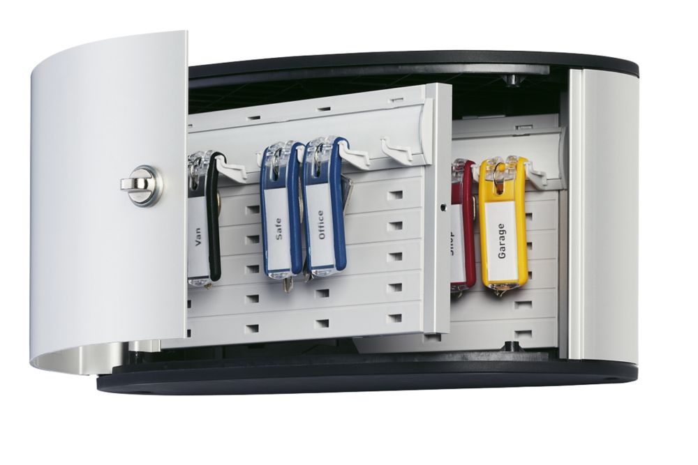 Image of Durable 12-Hook Key Cabinet