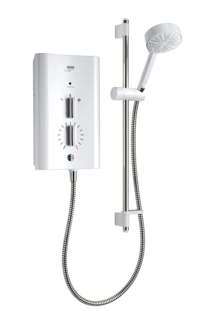 Image of Mira Escape Plus Thermostatic Electric Shower White 9.8kW