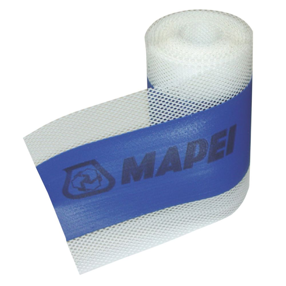 Image of Mapei Jointing Tape White / Grey 120mm x 5m