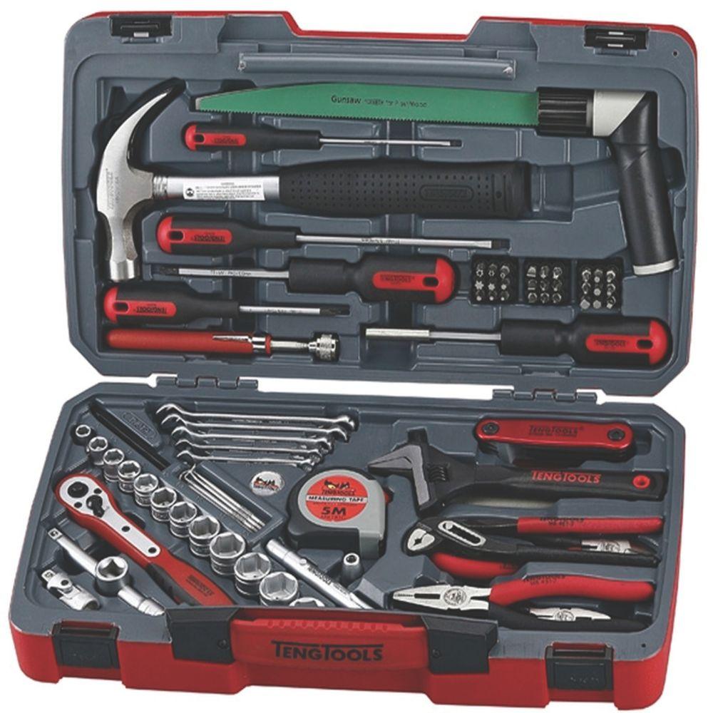 """Image of Teng Tools 3/8"""" Drive Socket & Tool Set 79 Pieces"""