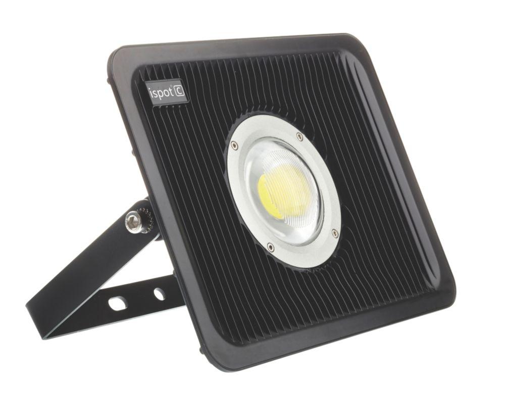 Image of Brackenheath ispot C Driverless LED Floodlight 50W Black