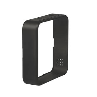 Image of Hive Heating Control Frame Surround Rich Black