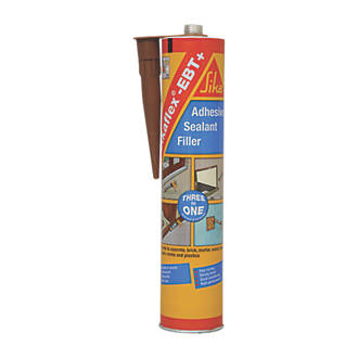 Image of Sika Sikaflex EBT+ All-Weather Sealant Brown 300ml