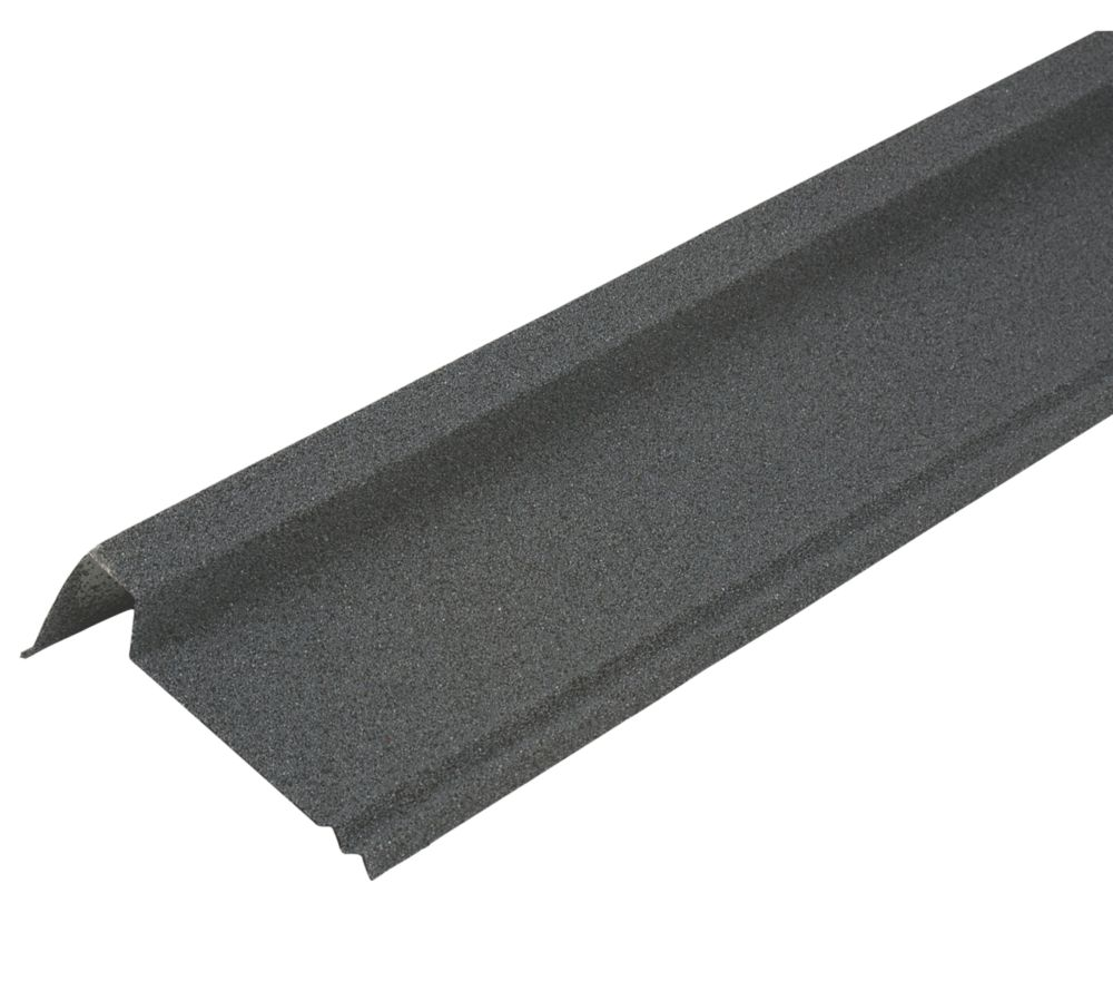 Image of Corotile Barge Cover Charcoal 910 x 90mm
