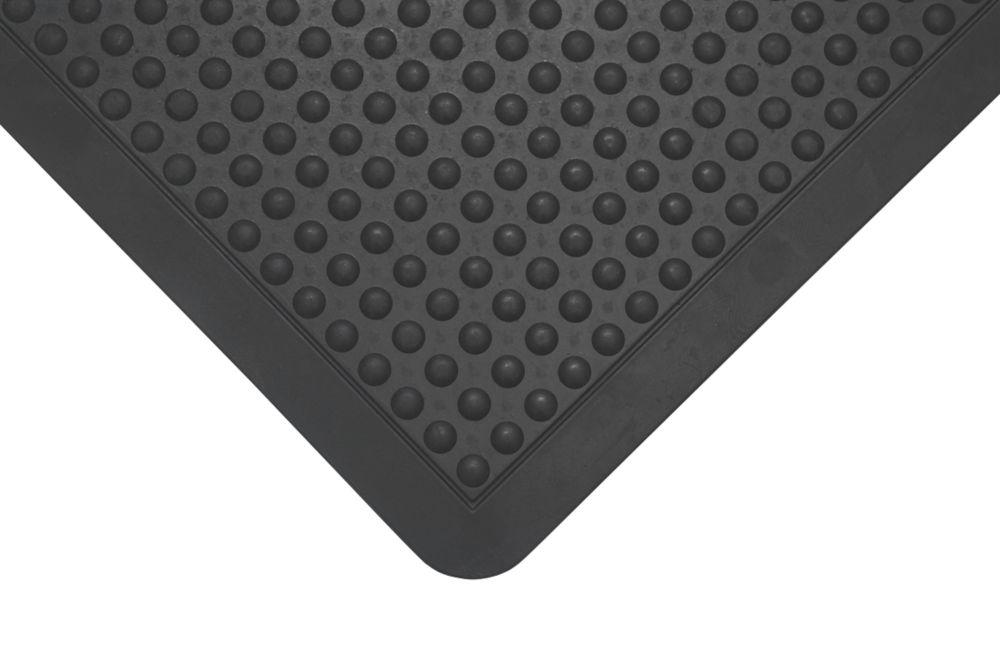 Image of COBA Europe Bubblemat Anti-Fatigue End Mat Black 0.9m x 0.6m