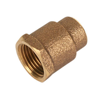 Image of Endex Brass End Feed Adapting Female Coupler 15mm x ½""