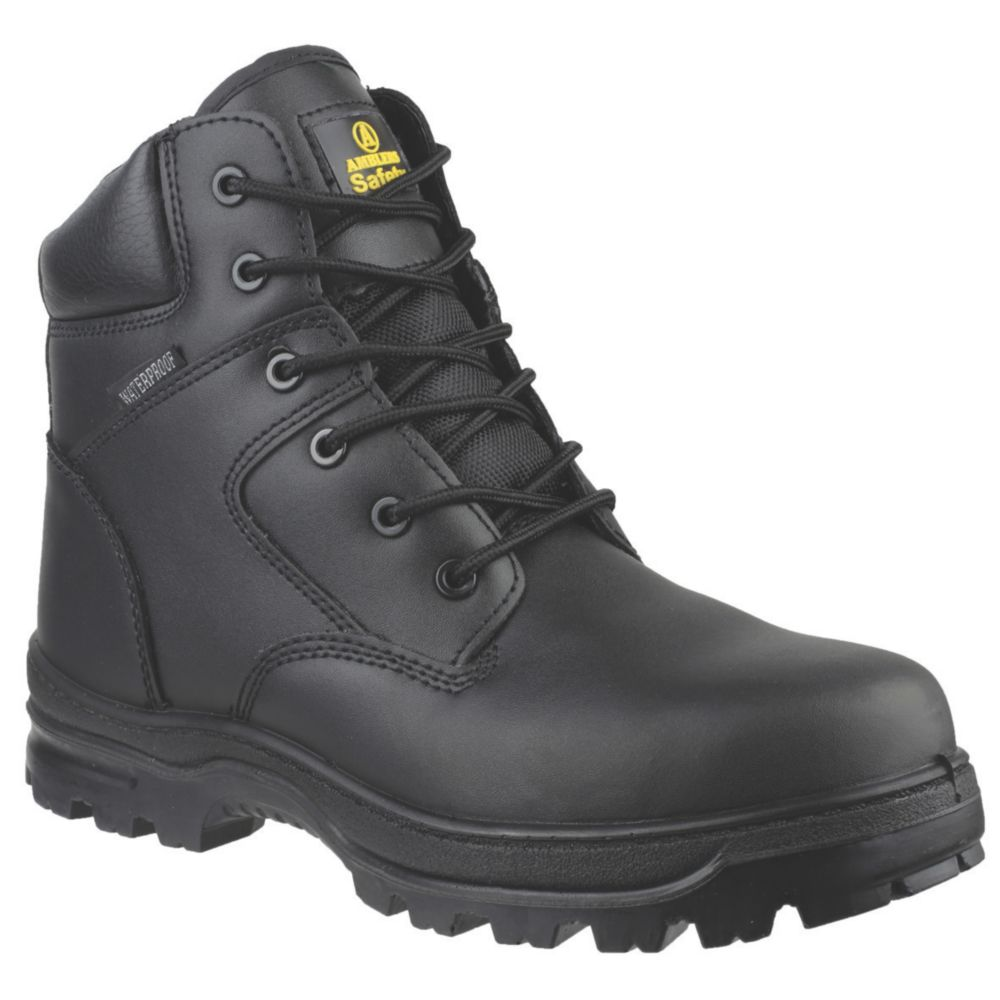 Image of Amblers FS006C Metal Free Safety Boots Black Size 13