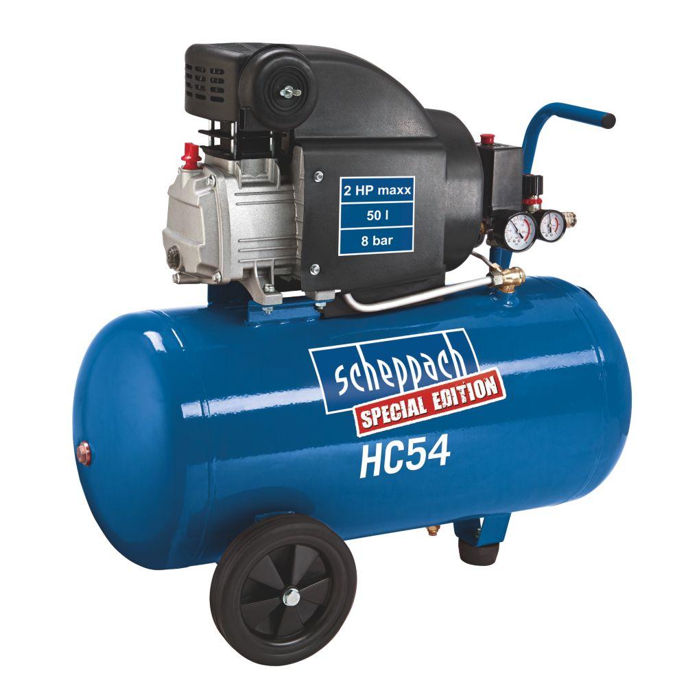 Image of Scheppach HC 54 50Ltr Air Compressor 230V