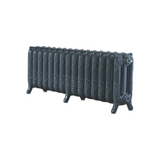Image of Arroll 3-Column Cast Iron Radiator 470 x 1234mm Anthracite