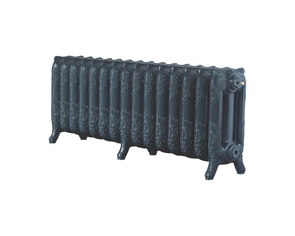 Image of Arroll Montmartre 3-Column Cast Iron Radiator Anthracite 470 x 1234mm