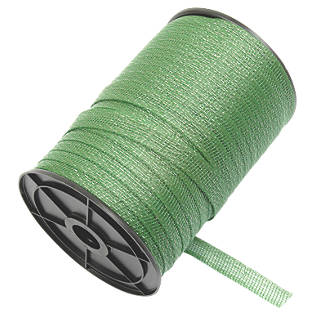 Image of Stockshop Electric Fence Polytape Green 20mm x 200m