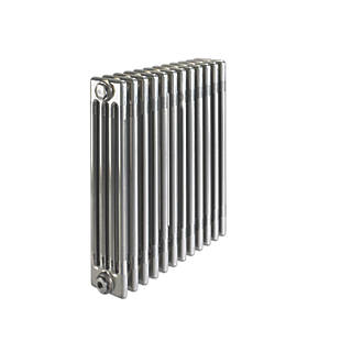 Image of Acova 4-Column Horizontal Designer Radiator 600 x 628mm Raw Metal