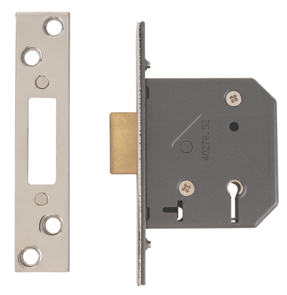 """Image of Yale 5-Lever 5-Lever Mortice Deadlock Polished Chrome 2"""" / 64mm"""