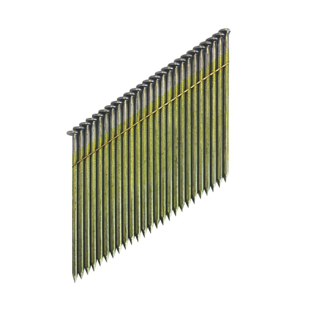 Image of DeWalt Galvanised Collated Framing Stick Nails 2.8 x 50mm 2200 Pack