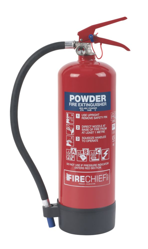 Image of Firechief Dry Powder Fire Extinguisher 4kg