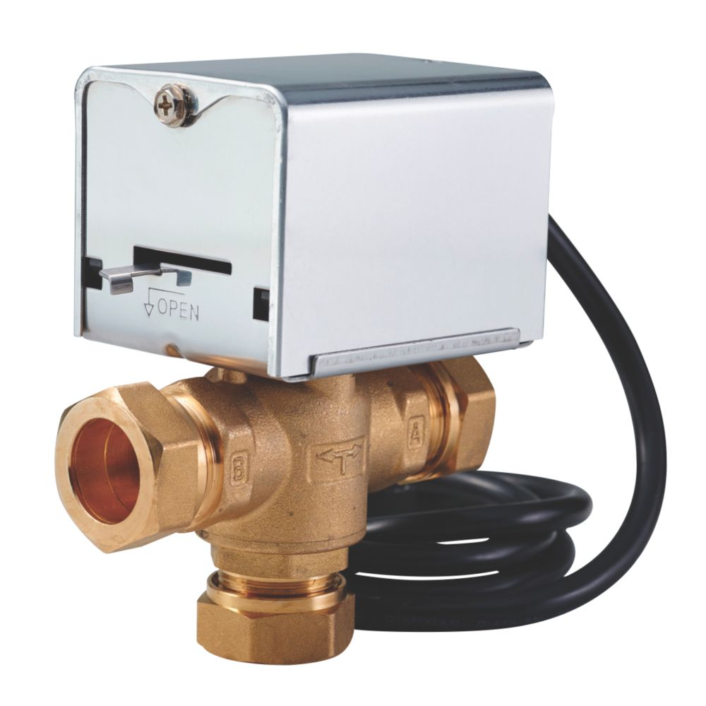 Image of Flomasta 27901SX 3-Port Motorised Valve