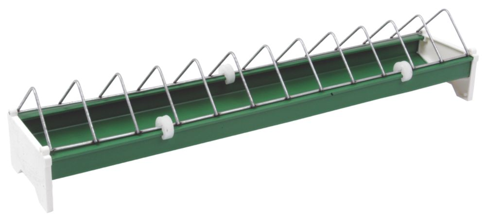 Image of Stockshop Wolseley Plastic & Steel Ground Feeder x 82mm Green 2kg