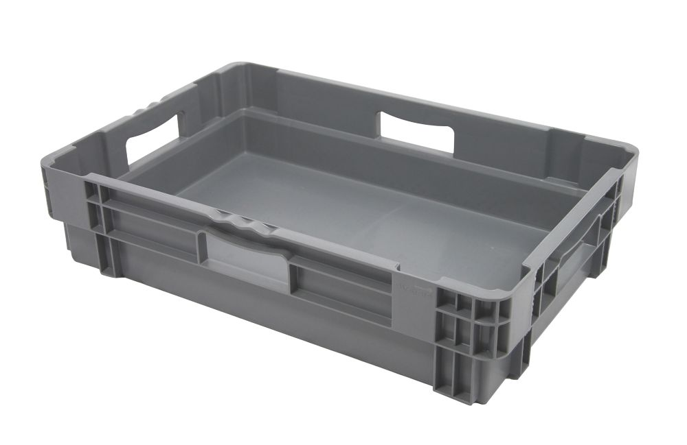 Image of 26Ltr Stack & Nest Container 600 x 400 x 140mm 5 Pack