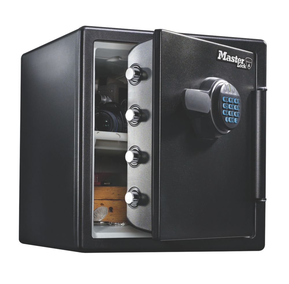 Image of Master Lock Electronic Water-Resistant 1-Hour Fire Safe 34.8Ltr