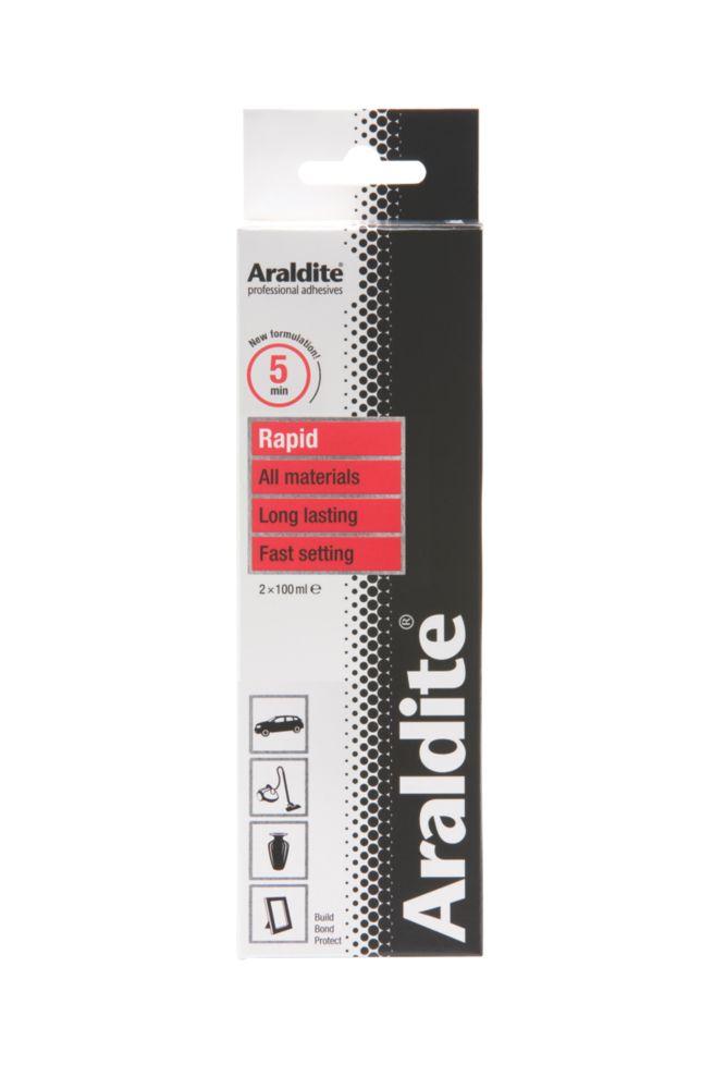 Image of Araldite 2-Part Epoxy Adhesive Opaque 2 x 100ml