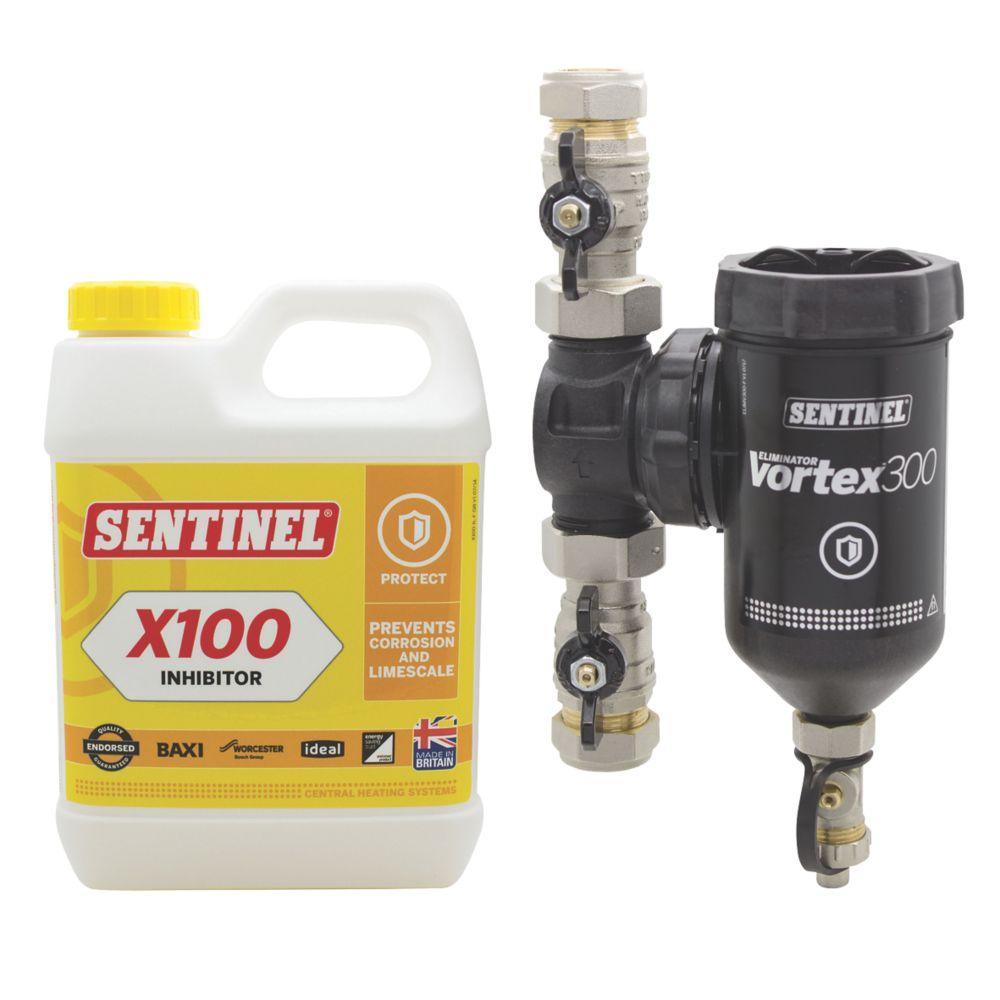 Image of Sentinel Eliminator Vortex 300 & X100 Inhibitor Pack 22mm