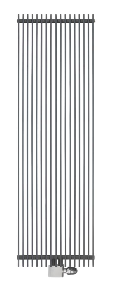Image of Ximax Atlas Vertical Designer Radiator Anthracite 1800 x 290mm