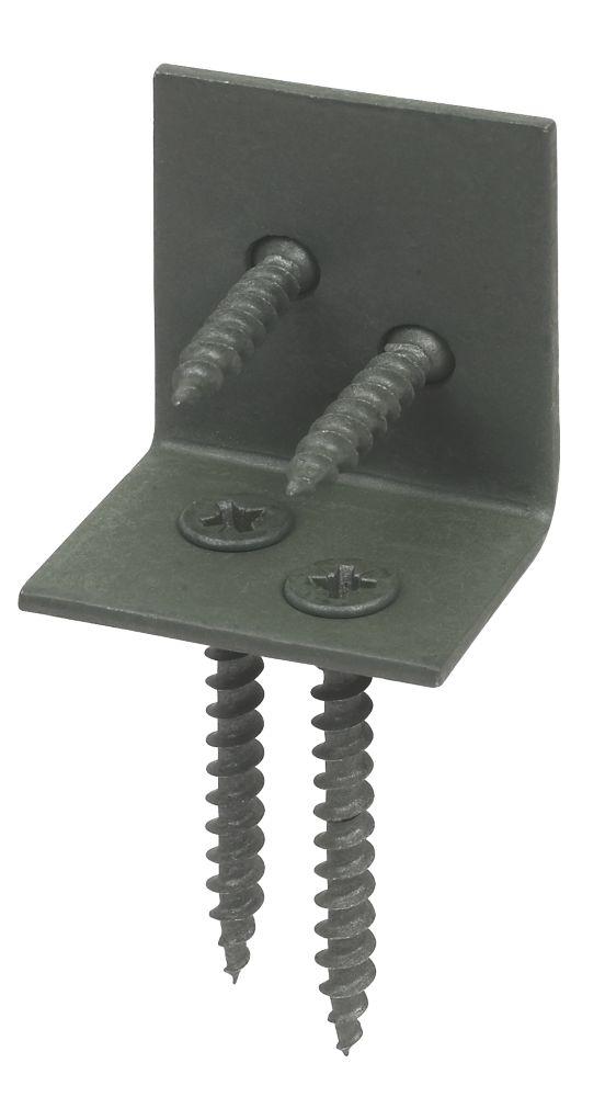 Image of Deck-Tite Countersunk Carbon Steel Handrail Bracket Kit 25 x 35mm 60 Pcs