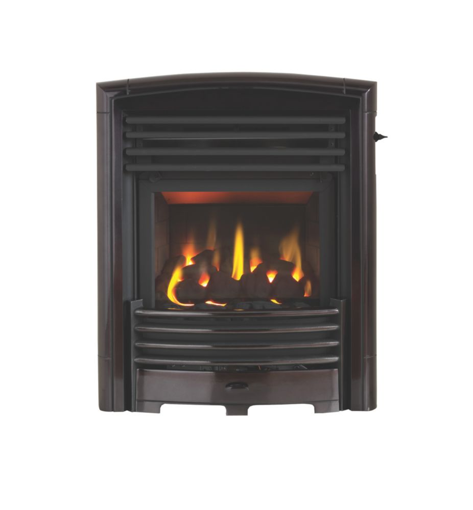 Image of Valor Petrus Black Inset Gas Fire