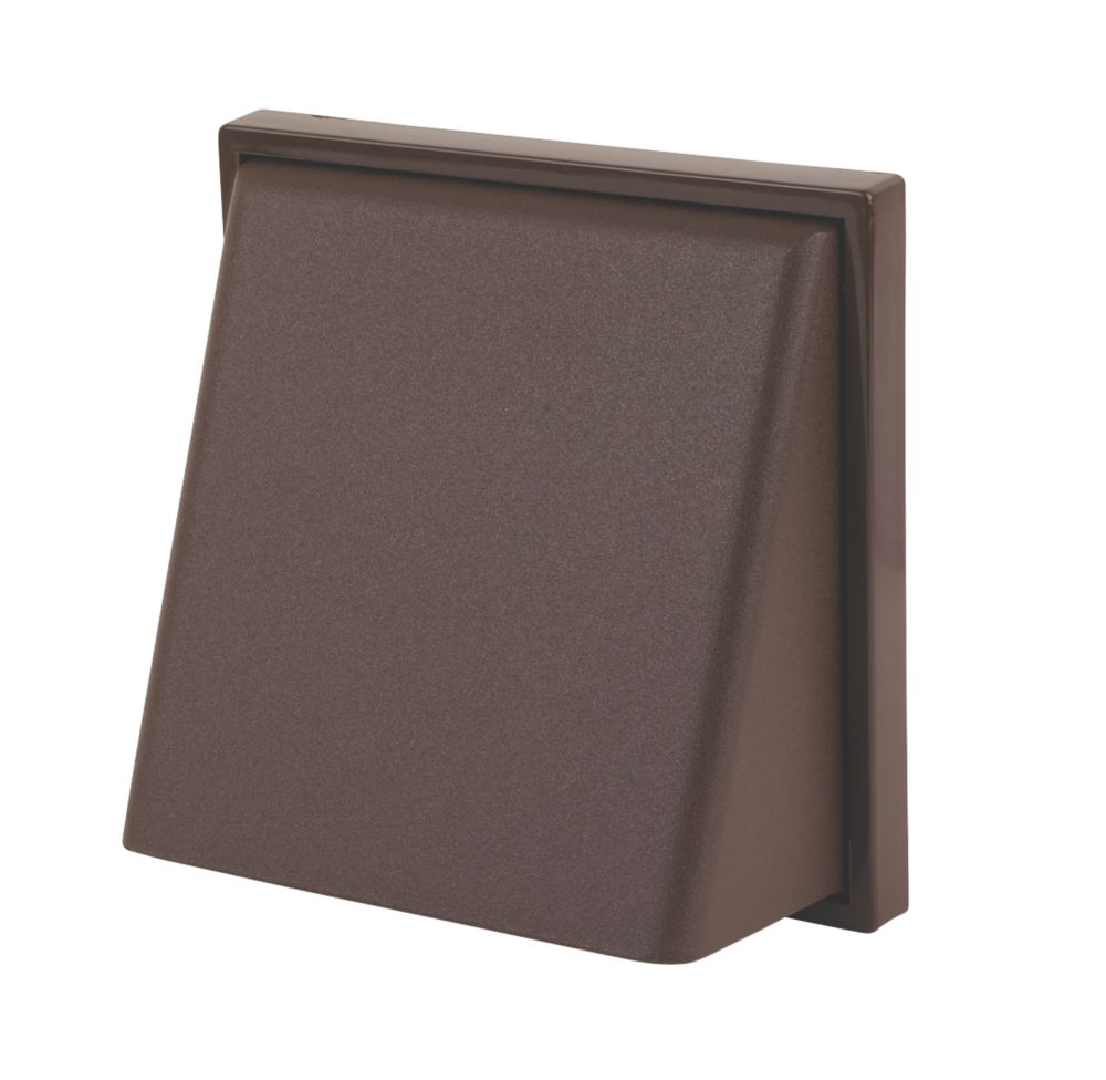 Image of Manrose Cowl Vent Brown 125mm