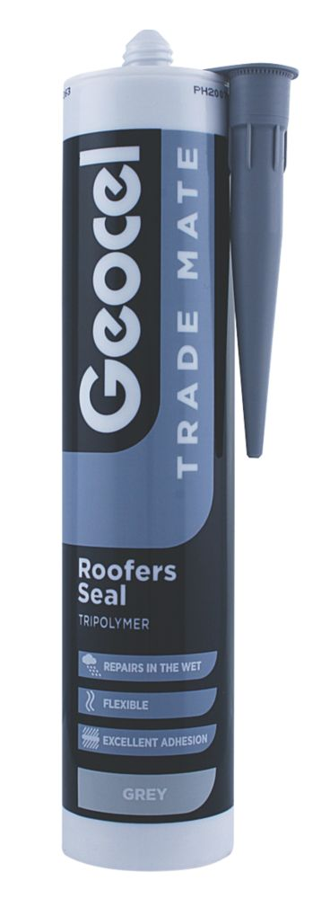Image of Geocel Trade Mate Roofers Seal Lead Grey 310ml