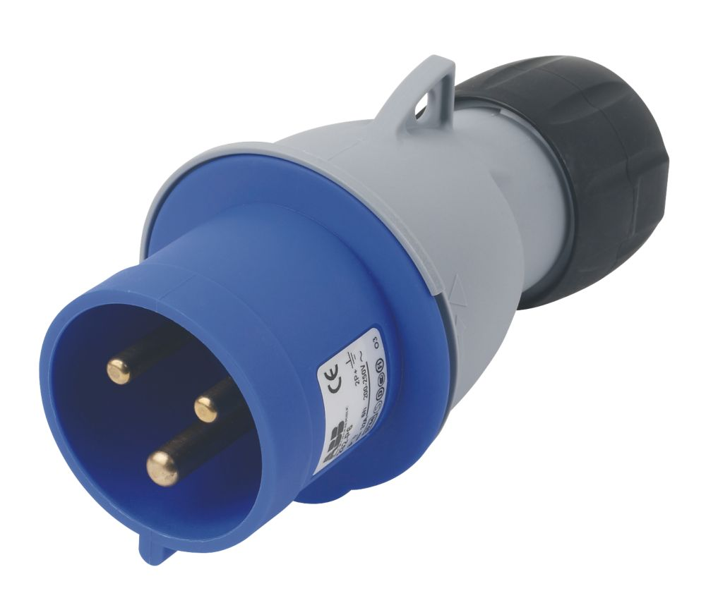 Image of ABB Straight Plug 32A 2P+E 250V 6H IP44