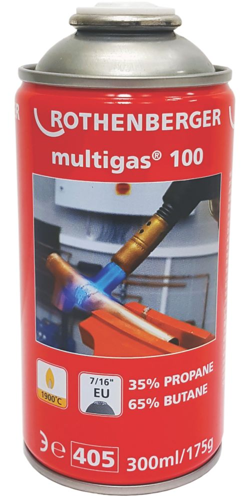 Image of Rothenberger Butane / Propane Mixed Gas Cylinder 175g